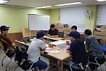 카드배송사업단 직무교육사진